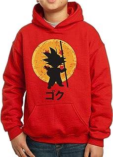 The Fan Tee Sudadera de NIÑOS Dragon Ball Goku Vegeta Bolas de Dragon Super Saiyan 043