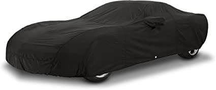 Fleeced Satin FS16895F5 Black Covercraft Custom Fit Car Cover for Select Suzuki Equator Models