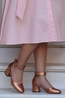 Helen Bakır Topuklu Ayakkabı