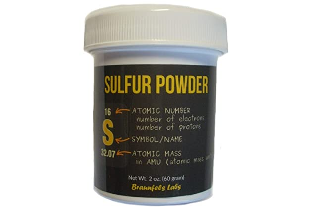 Best sulfur powder for skin | Amazon com
