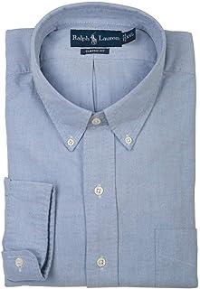 Polo Ralph Lauren Classic Fit Oxford Pony Dress Shirt For Men - XXL, Light Blue