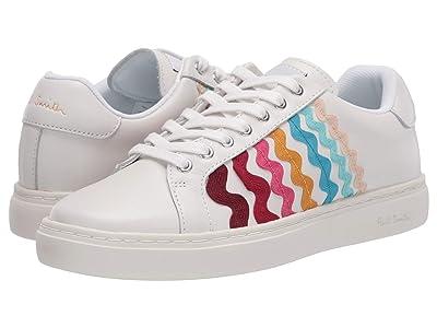 Paul Smith PS Lapin Sneaker (White Multi Ribbon) Women