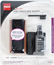 Record Cleaning Kit - D4+ System with Cleaning Pad, Brush and Fluid (1-Pack)