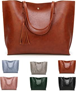 ZhengYue Handtasche Damen Tasche PU lederne Schultertasche Casual Handtaschen Shopper Shopping Bag Umhängetasche Elegant G...