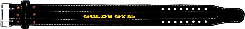 ゴールドジム(GOLD`S GYM) パワーベルト ダブルピン G3352 【中級者~上級者】 パワーリフティング競技や高重量トレーニングモデル 腰 体幹 補助 スクワット デッドリフト ベンチプレス シーテッドローイング ラットプルダウン 【ゴールドジム正規品 ゴールドジムトレーナー愛用】 トレーニングベルト