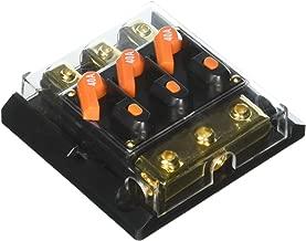 PYLE PLDS30 Triple 40 Amp In-Line Circuit Breaker
