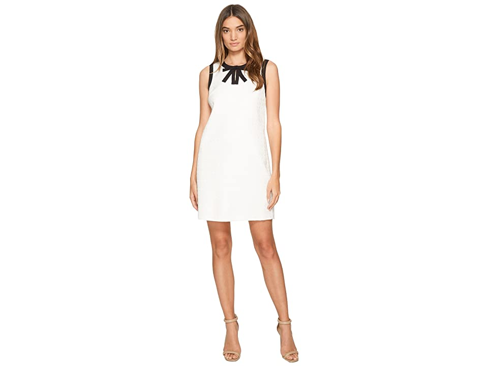 CeCe Camilla Sleeveless Bow Neck (New Ivory) Women