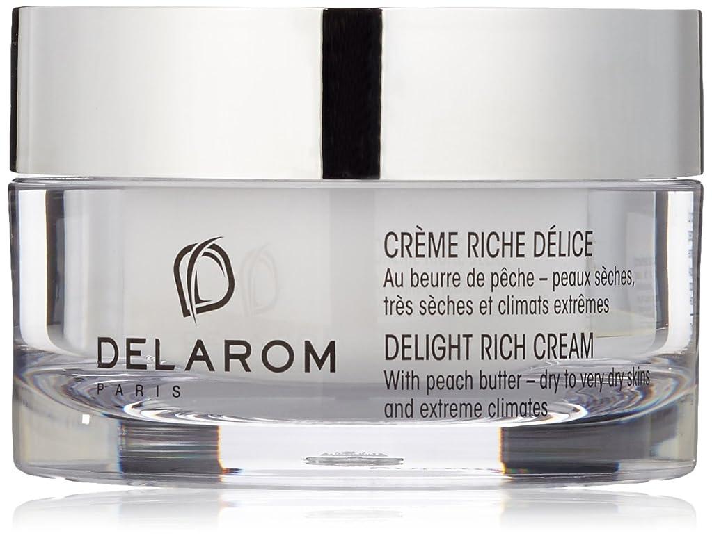 用心徹底DELAROM Delight Rich Cream - For Dry to Very Dry Skins & Extreme Climates 50ml/1.7oz並行輸入品
