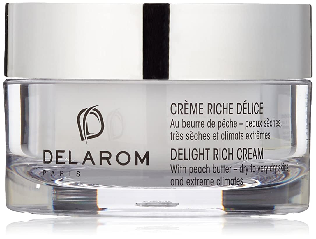 無限調べる横にDELAROM Delight Rich Cream - For Dry to Very Dry Skins & Extreme Climates 50ml/1.7oz並行輸入品