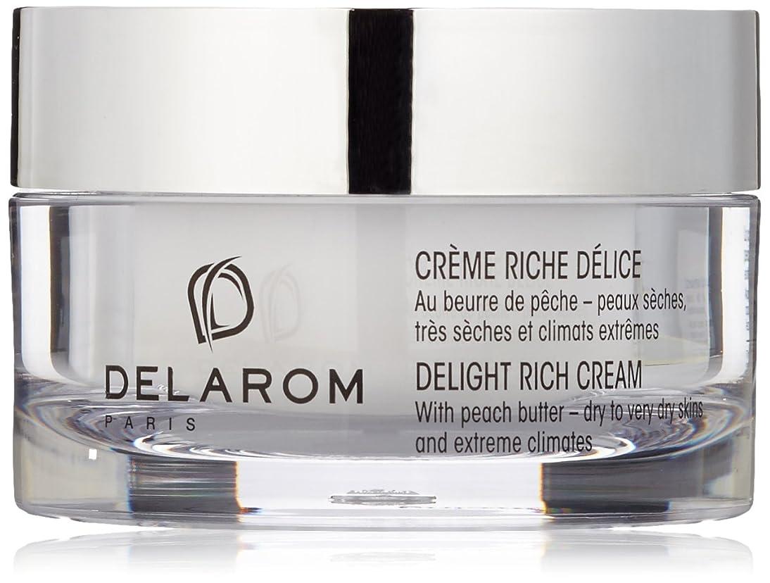 大洪水麻痺させる推進、動かすDELAROM Delight Rich Cream - For Dry to Very Dry Skins & Extreme Climates 50ml/1.7oz並行輸入品