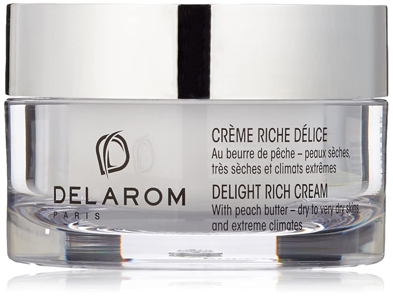 九全く憎しみDELAROM Delight Rich Cream - For Dry to Very Dry Skins & Extreme Climates 50ml/1.7oz並行輸入品