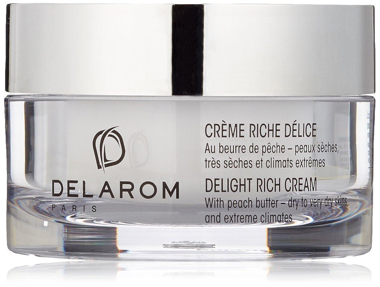 鼓舞する衝突する障害DELAROM Delight Rich Cream - For Dry to Very Dry Skins & Extreme Climates 50ml/1.7oz並行輸入品