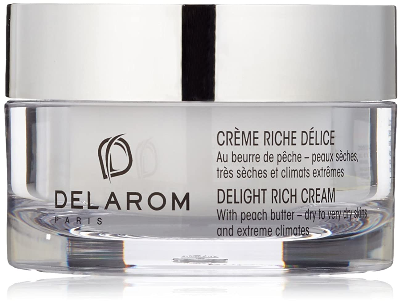 ぶら下がる反抗実り多いDELAROM Delight Rich Cream - For Dry to Very Dry Skins & Extreme Climates 50ml/1.7oz並行輸入品