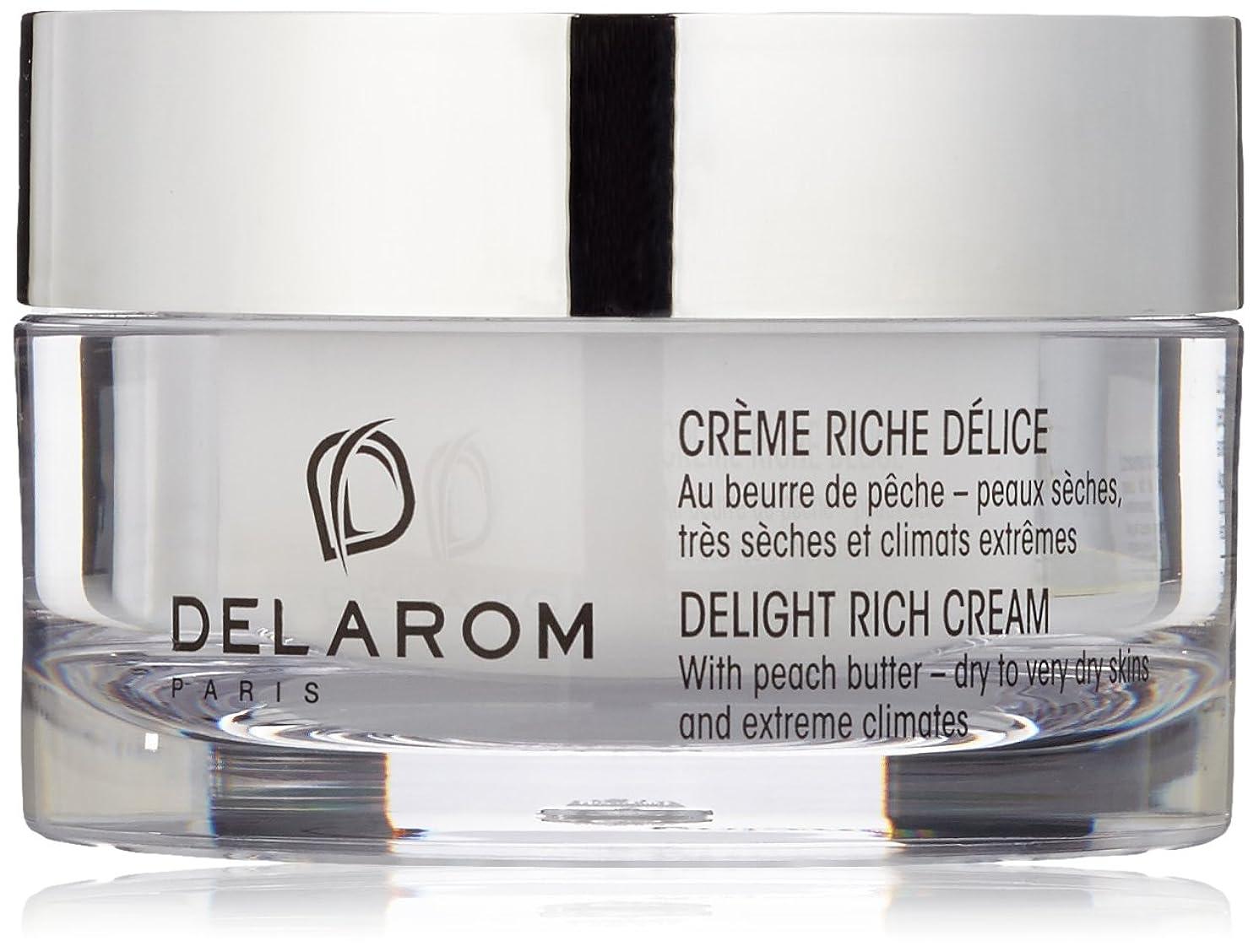 胚本物の無謀DELAROM Delight Rich Cream - For Dry to Very Dry Skins & Extreme Climates 50ml/1.7oz並行輸入品