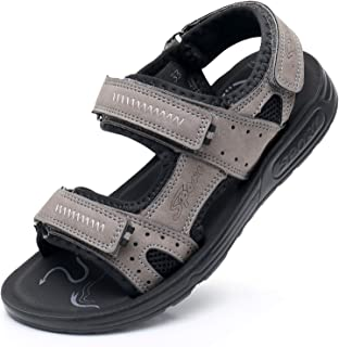 Ying-xinguang Kid's Shoe Casual Summer Shoes Kids Boys Open Toe Three Strap Walking Sandals Comfortable