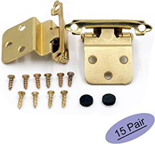 Best cabinet hinges brass Reviews