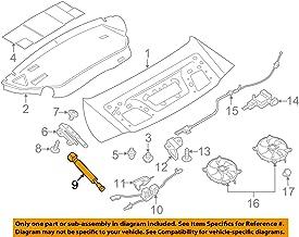 Porsche 991 512 551 00, Deck Lid Lift Support