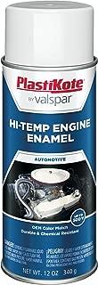 PlastiKote 211 Hot Rod White Engine Enamel, 12 oz.