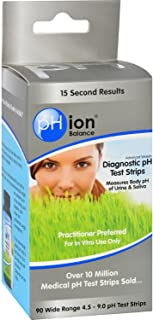 Phion Balance Diagnostic Ph Test Strips 90 Ct