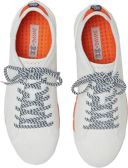 White/Orange