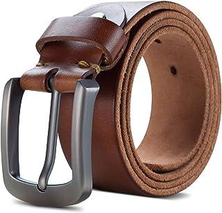nuovo arrivo 25ae2 8eeab Amazon.it: Cintura Vero Cuoio