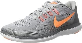 Nike Women's Flex 2017 RN Running Shoe Wolf Grey/Sunset Glow/Cool Grey Size 11 M US