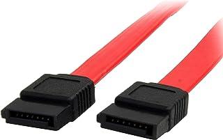 StarTech.com 36in SATA Serial ATA Cable - SATA cable - Serial ATA 150 - SATA (F) to SATA (F) - 3 ft - red - SATA36