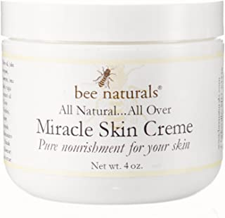 Sponsored Ad - Bee Naturals Miracle Skin Creme - All Natural Skin Cream - Pure Nourishment for Your Skin (4 Oz)