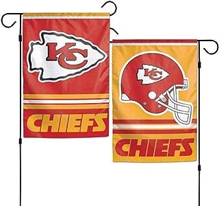 Stockdale Kansas City Chiefs WC Garden Flag Premium 2-Sided Outdoor House Banner Football