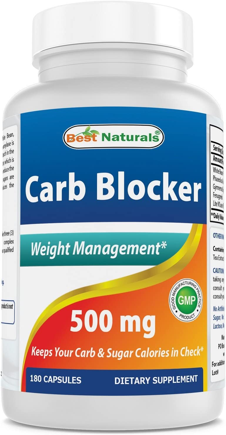 Best Naturals Carb Very popular OFFicial mail order 180 Blocker Capsules