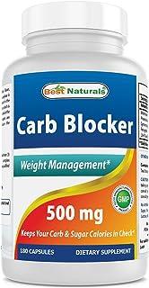 Best Naturals Carb Blocker 180 Capsules