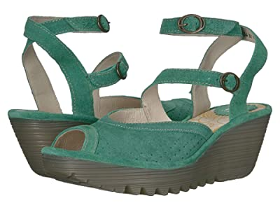 FLY LONDON YAXI945FLY (Avocato Suede) Women