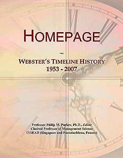 Homepage: Webster's Timeline History, 1953 - 2007
