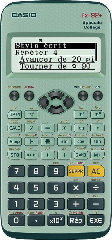 小さな献身低下The Best Scientific Calculator FX 92?College II D Scientific Calculator、バッテリ
