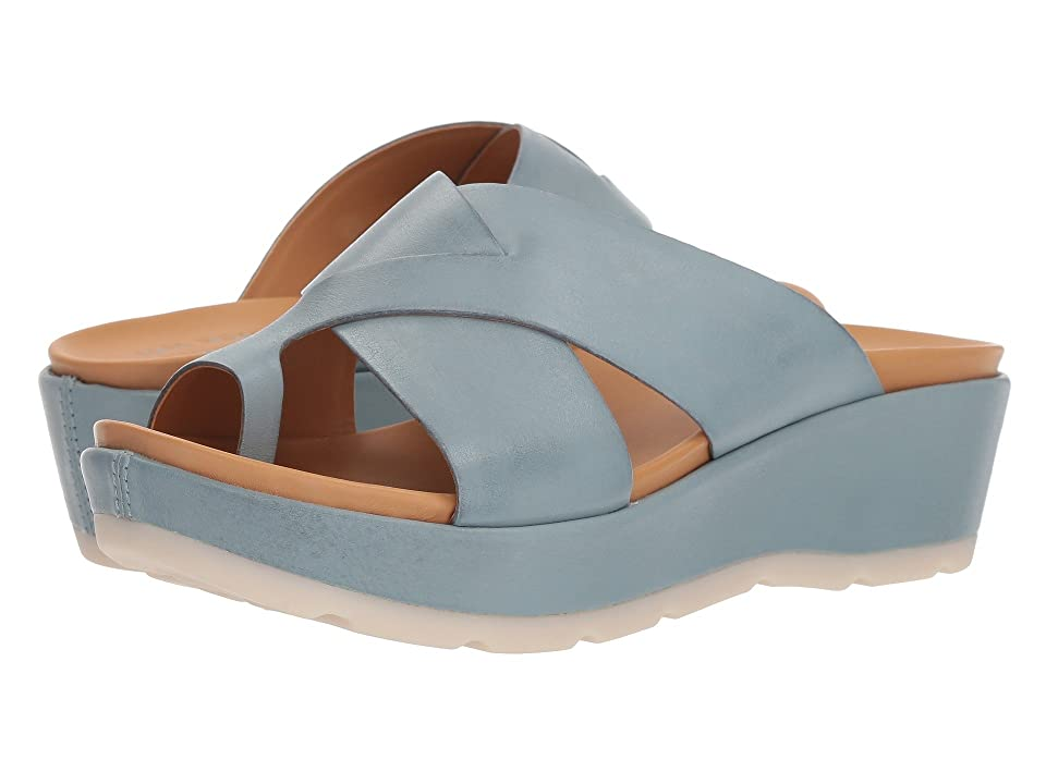Kork-Ease Baja Sport (Light Blue Full Grain Leather) Women