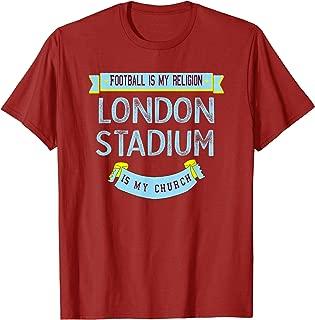 Vintage West Ham Top Hammers Soccer Football Jersey T-Shirt