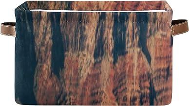 ALALAL Organisateur de tiroirs de Rangement rectangulaires Une Vue imprenable sur Grand Canyon Arizona Cube Bacs de Rangem...
