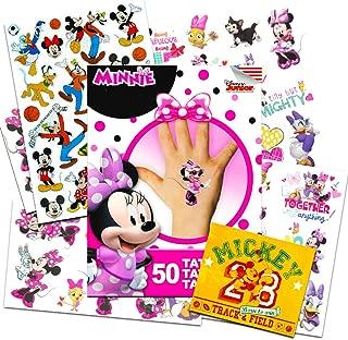 Disney Minnie Mouse Tattoos Party Favor Set (50 Disney
