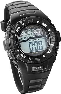 JewelryWe Unisex Sport Watch Multifunction Digital Wristwatch