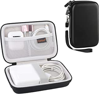 Canboc Travel Case for MacBook Air Power Adapter, Also Good for USB C Hub, Type C Hub, USB Multi Ports Type c hub, Black