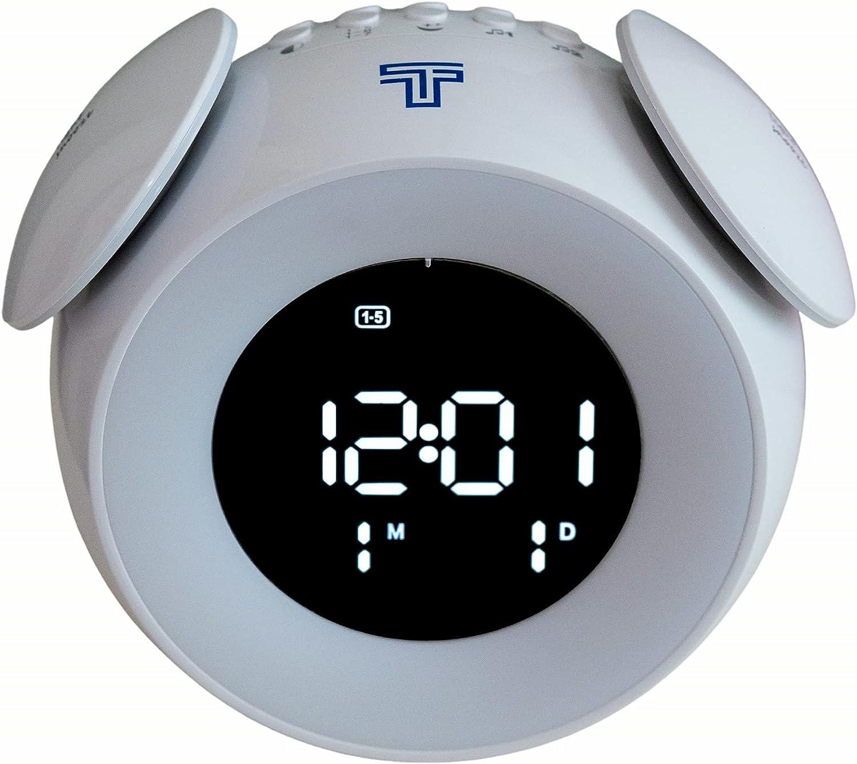 Max 87% OFF Sunrise Alarm Clock Oklahoma City Mall by TechTock Wake Up with Simu Light