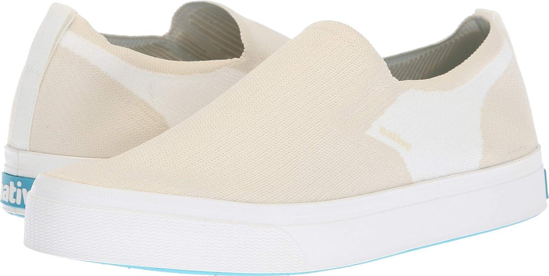 Native shoes Unisex Miles 2.0 Liteknit Bone White Shell White 9 Women   7 Men M US