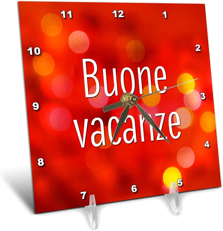 3dRose Doreen SEAL limited product Erhardt Cultural - Buone Max 82% OFF Vacanze Hol Happy Italian