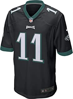 Nike Carson Wentz Philadelphia Eagles Jersey Black