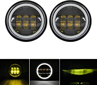 Best motorcycle yellow fog lights Reviews