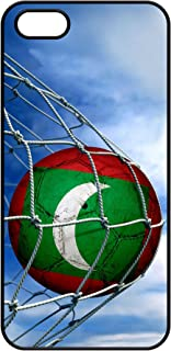 Case for iPhone 5 / 5S - Flag of Maldives - Soccer