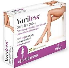 Variless ® 680 mg. 30 capsulas veg. con vid roja, centella asiatica, bioflavonoides, rusco, castaño de indias y hamamelis…