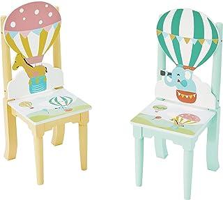 Fantasy Fields Juego de 2 sillas para guardería, 29.2 x 30.5 x 73.66 cm