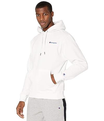 Champion Powerblend Graphic Hoodie (White) Men