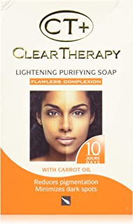 CT+ Clear Therapy Carrot Lightening Purifying Soap 175G